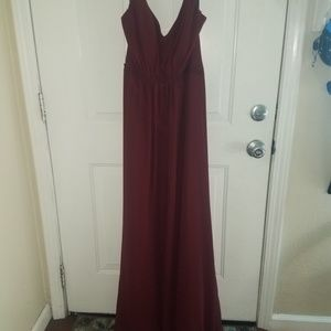 Alfred Angelo Mahogany Gown